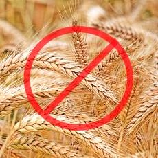 sign marking grains - cerals forbidden