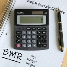calculate your BMR pen paper calculator