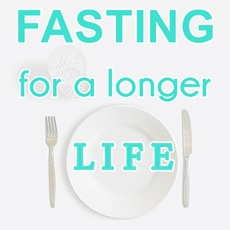 empty plate glass of water: fasting